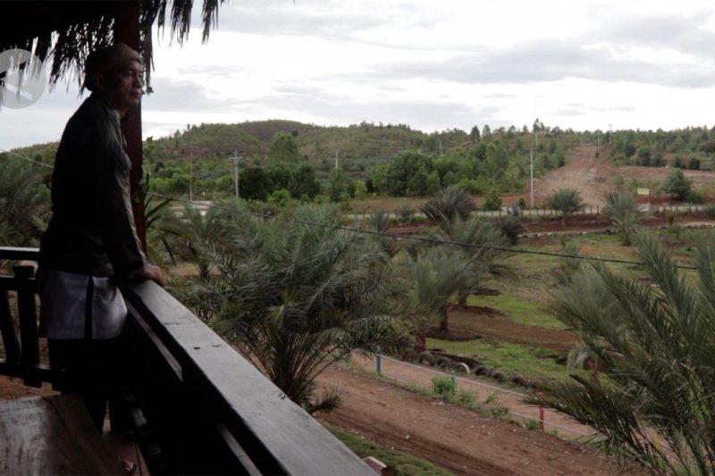 Wisata Kebun Kurma Berbate pilihan ngabuburit warga Aceh