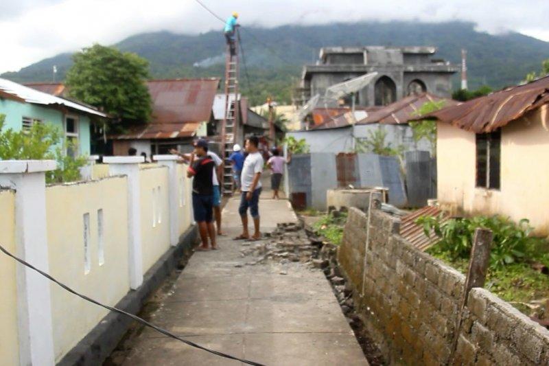 Puluhan bangunan di Ternate alami kerusakan akibat angin kencang