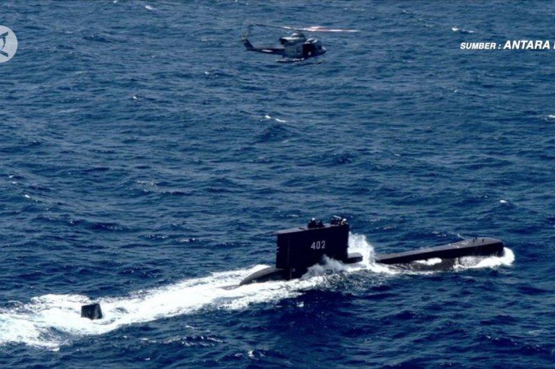 TNI AL: Dalam pencarian, belum tentu KRI Nanggala-402 tenggelam