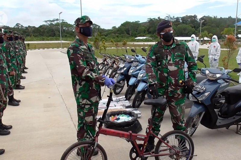 TNI AL serahkan bantuan opersional pendukung ke RSKI Galang