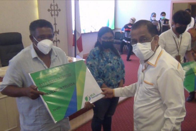 Pemkot Ambon gandeng BPJS Ketenagakerjaan lindungi 25.000 pekerja rentan