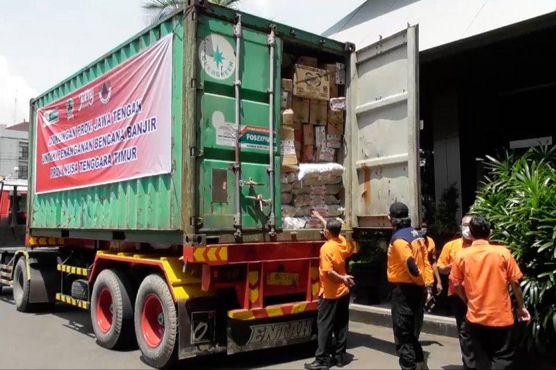 Pemprov Jateng kirim bantuan logistik dan relawan untuk NTT