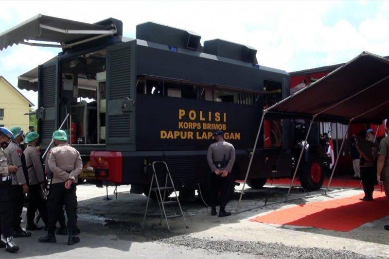 Polda Kalteng luncurkan kendaraan taktis Brimob