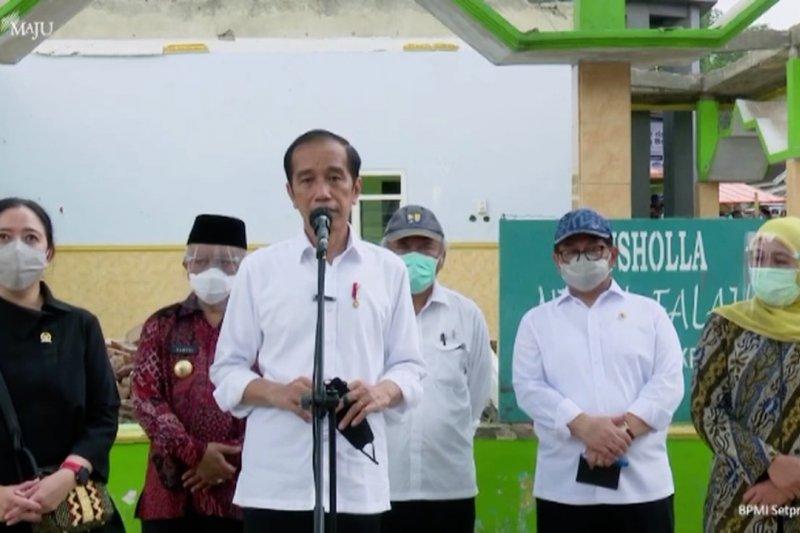 Presiden: Pemerintah segera renovasi fasilitas rusak karena gempa