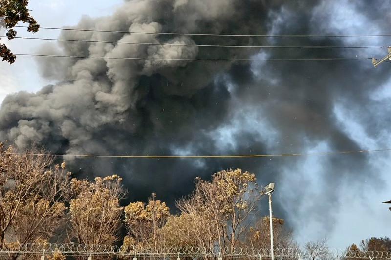 Bareskrim Polri olah TKP kebakaran di Kilang Pertamina Balongan