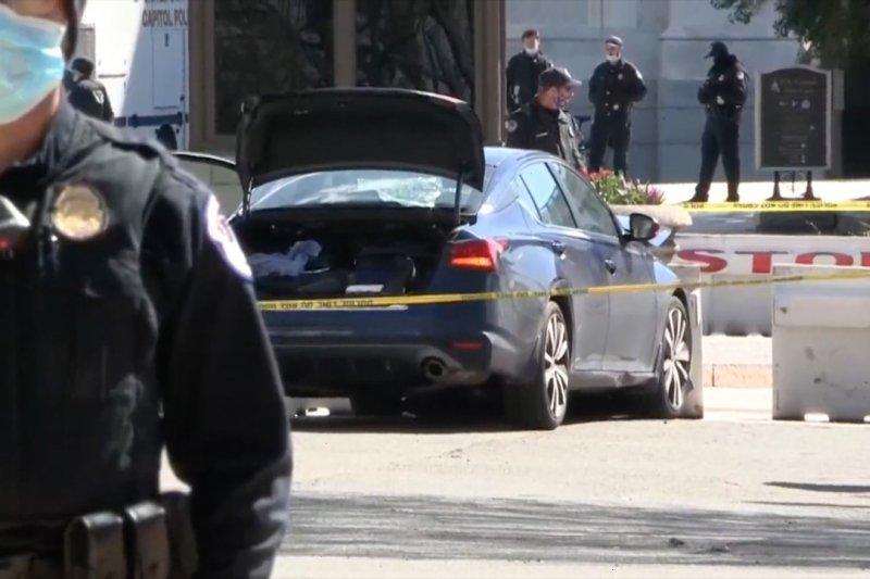 Gedung Capitol AS kembali diserang, dua orang tewas
