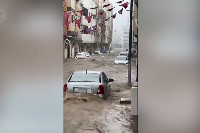 Hujan deras sebabkan banjir parah di Mekkah
