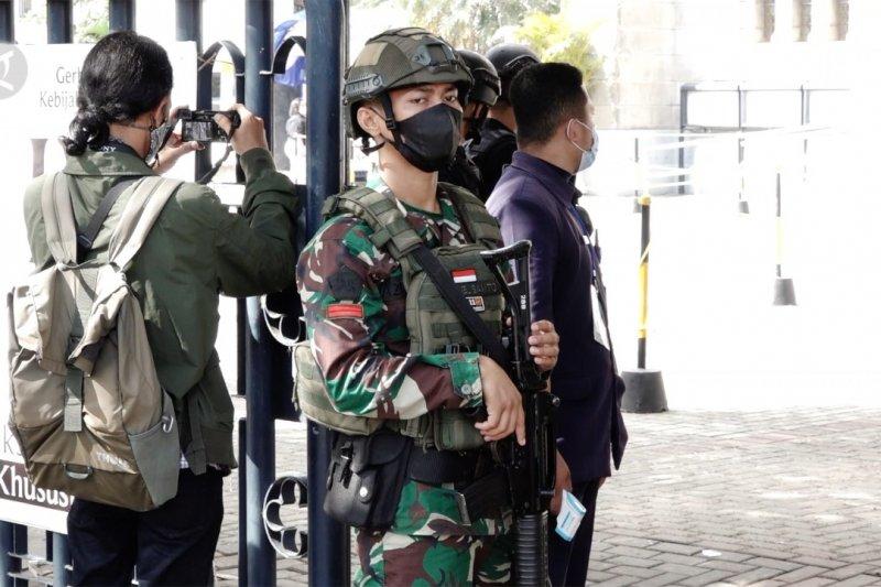 Paskah, 150 personel gabungan jaga ketat Katedral Jakarta
