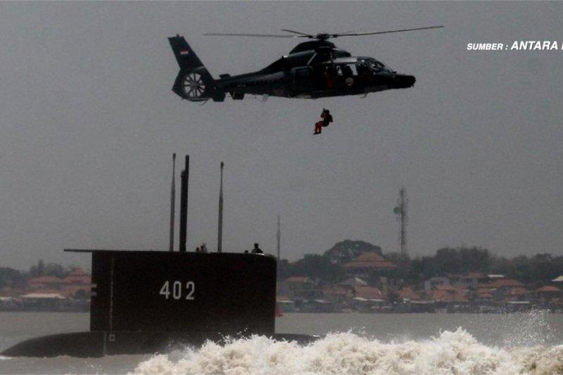 TNI kerahkan seluruh potensi pencarian kapal selam hilang kontak