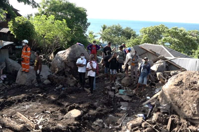 22 korban Lembata belum ditemukan