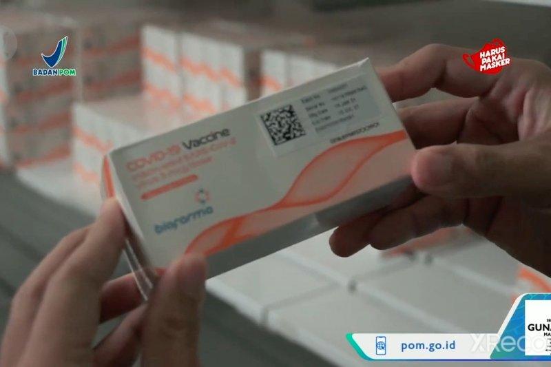 BPOM terbitkan izin penggunaan darurat vaksin Sinopharm