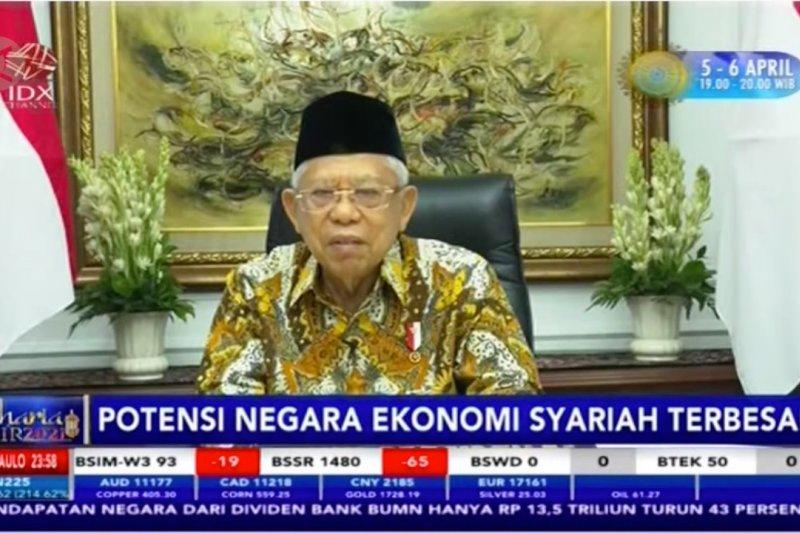 Wapres nilai Indonesia pasar potensial ekonomi & keuangan syariah