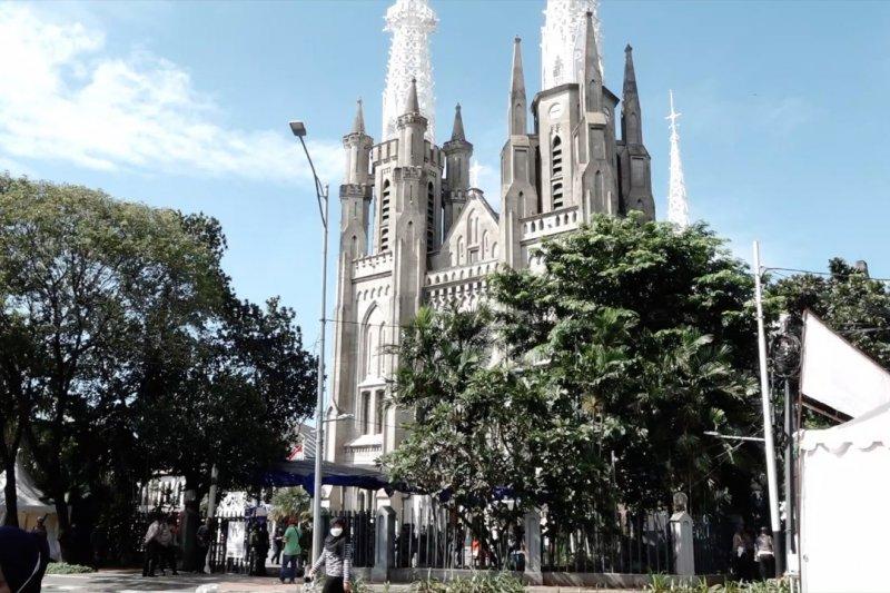 Gereja Katedral Jakarta batasi jumlah jemaat
