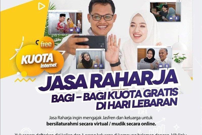 Jasa Raharja fasilitasi mudik gratis secara virtual