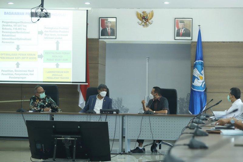 Kementan ajak Universitas Syah Kuala kembangkan Kopi Gayo