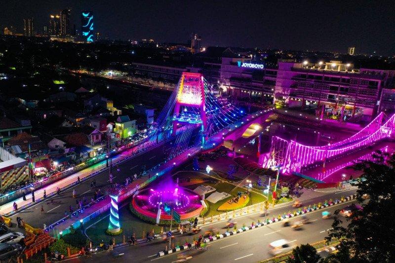 Jembatan Sawunggaling diharapkan gerakkan ekonomi warga Surabaya