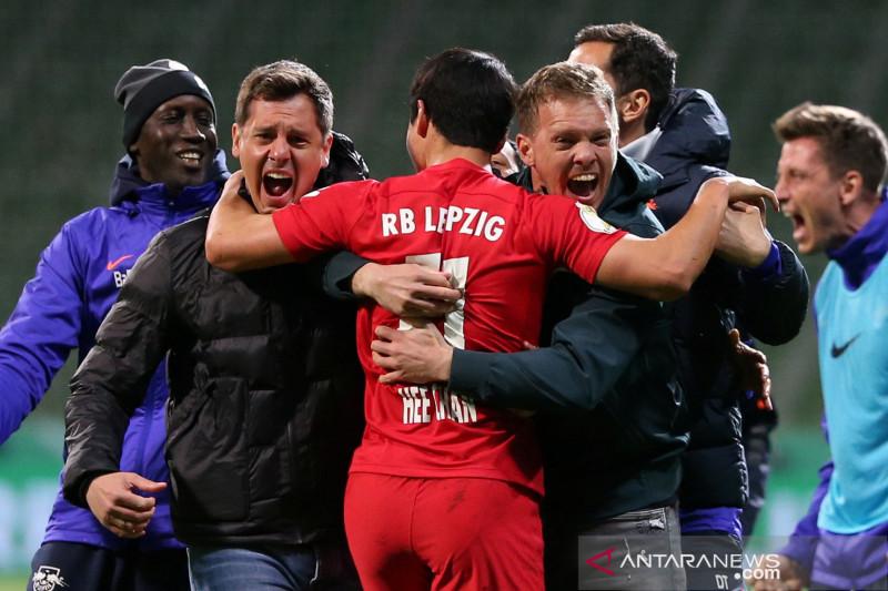 DFB Pokal: Leipzig ke final setelah atasi Bremen