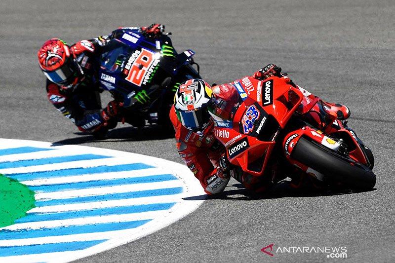 Miller juarai GP Spanyol, Quartararo gagal hattrick di Jerez