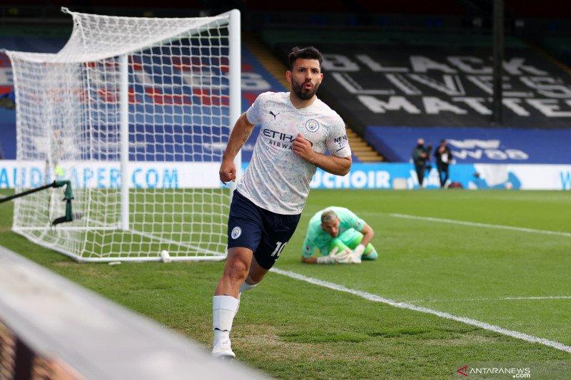 Everton ikut dalam persaingan dapatkan Sergio Aguero