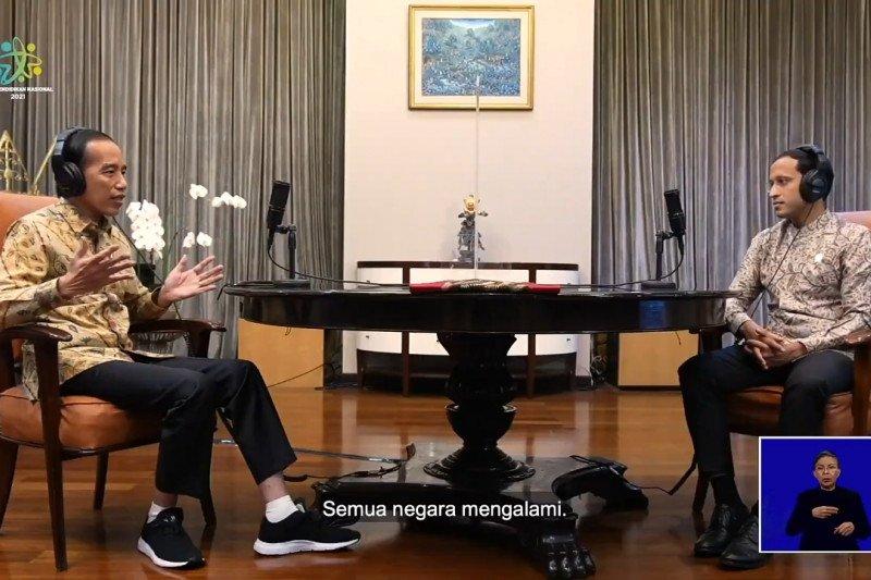 Presiden Jokowi: Pendidikan harus memerdekakan manusia