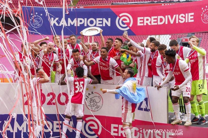 Klasemen akhir Liga Belanda: PSV dampingi Ajax ke Liga Champions