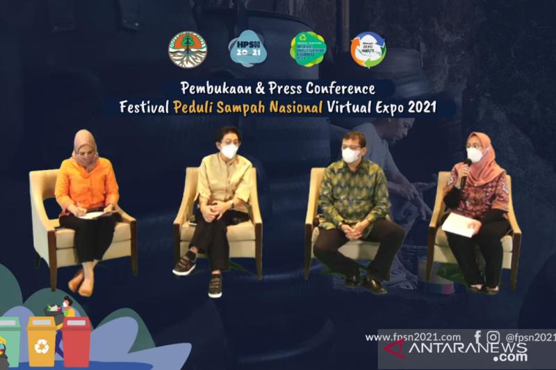 KLHK luncurkan Festival Peduli Sampah Nasional 2021