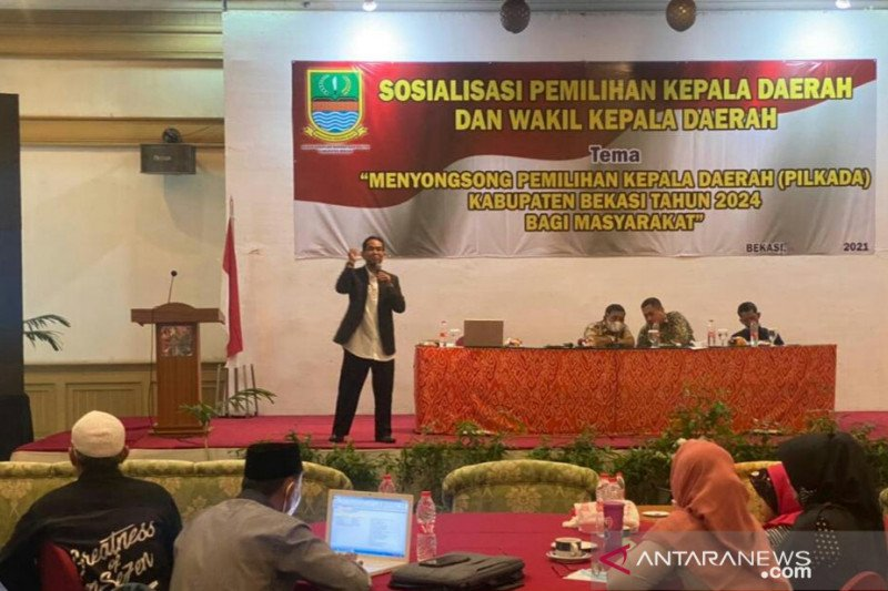 Tahapan Pilkada 2024 Kabupaten Bekasi dimulai 2022