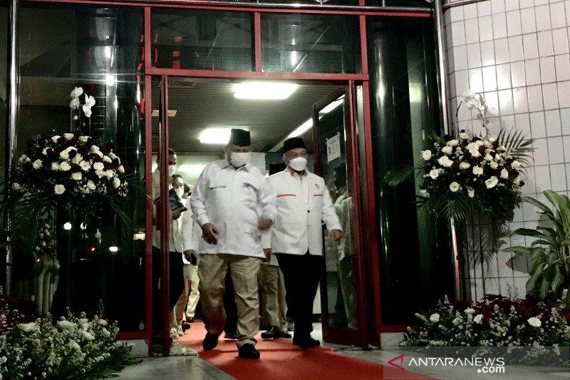 Muzani: internal Gerindra meminta Prabowo maju di Pilpres 2024