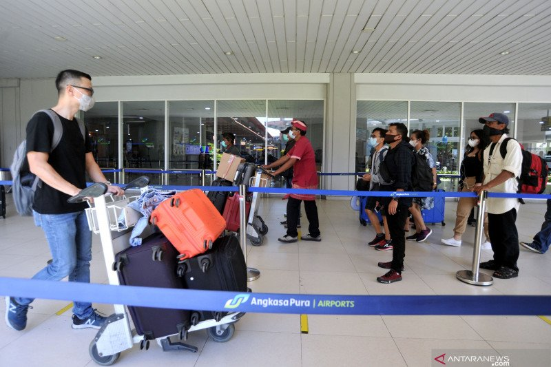 Penumpang Bandara Ngurah Rai Bali naik 16 persen selama April