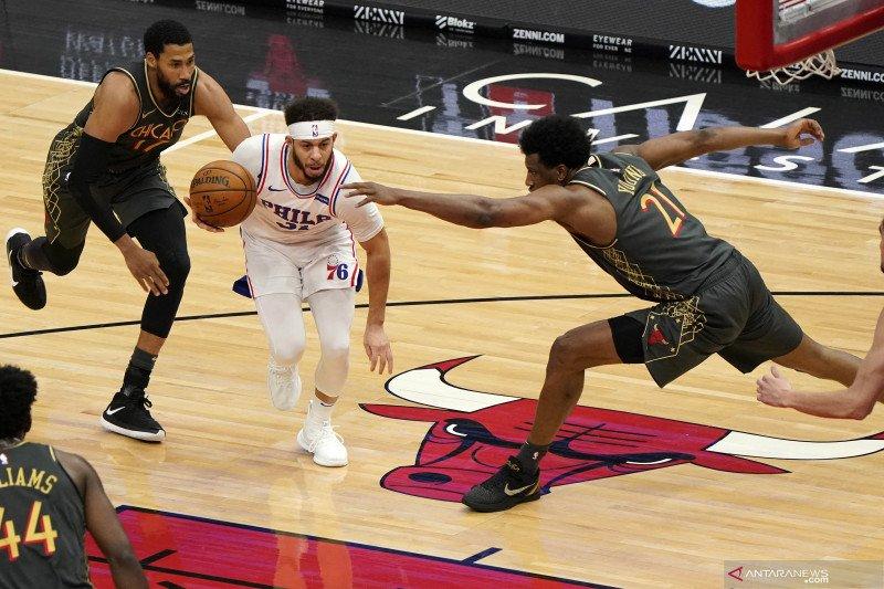 NBA: 76ers kalahkan Bulls 106 - 94