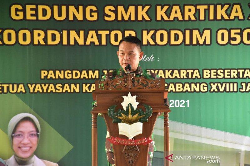 Pangdam Jaya resmikan gedung baru SMK Kartika X-1 di Jakarta Barat