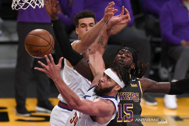 Triple-double Nikola Jokic bawa Nuggets lewati Pistons