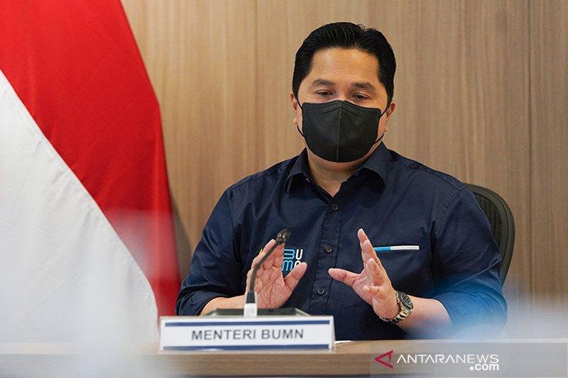 Erick Thohir pastikan tujuh BUMN dibubarkan pada 2021