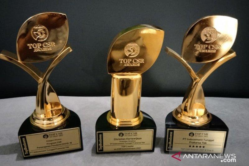 Indocement raih tiga penghargaan pada Top CSR Award 2021