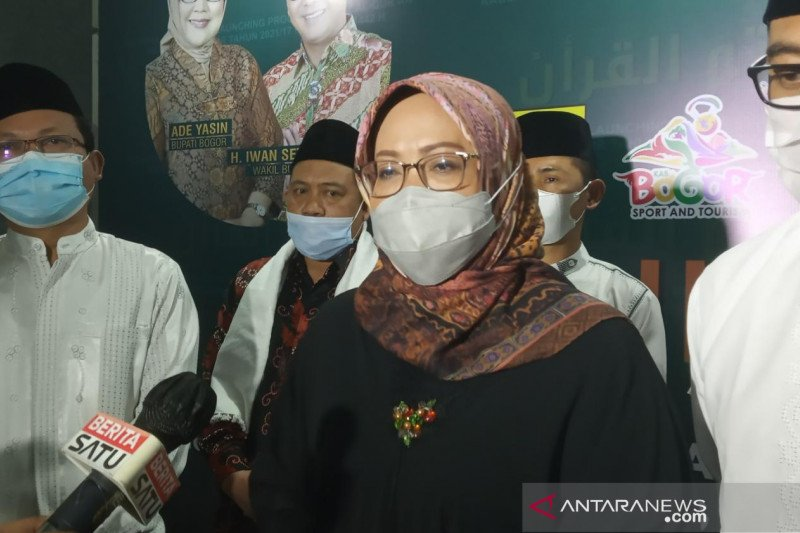 Ade Yasin kerahkan 40 camat se-Kabupaten Bogor antisipasi mudik
