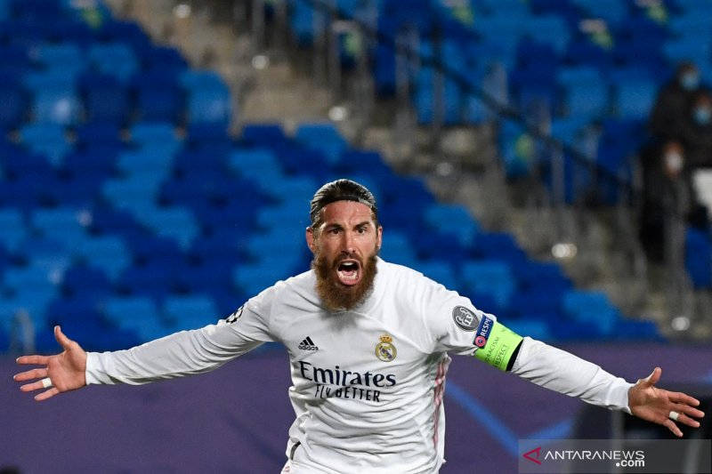 Sergio Ramos siap diturunkan lawan Chelsea di semifinal
