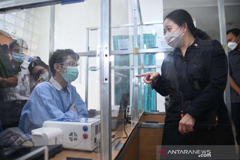 Ketua DPR sidak tes GeNose di Stasiun Cirebon