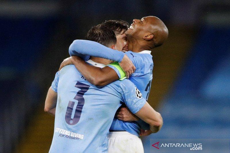 Kalahkan PSG, Manchester City melaju ke babak final Liga Champions