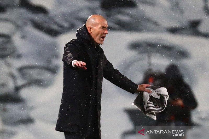 Zidane: tidak ada keajaiban dalam sepak bola