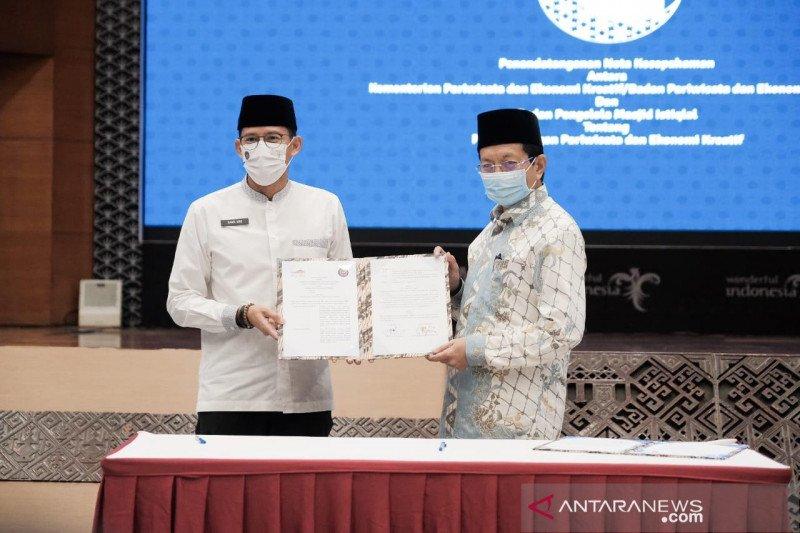 Kemenparekraf gandeng Masjid Istiqlal kembangkan wisata halal