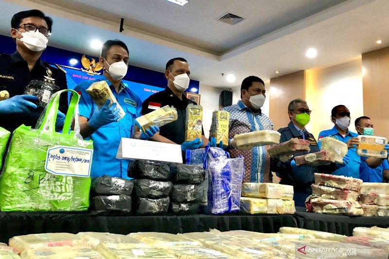 BNN ungkap tiga sindikat narkoba internasional, sita 581,31 kg sabu