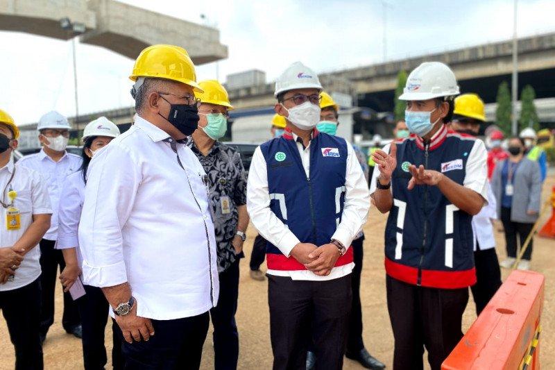 KSP:Tol becakayu beroperasi penuh akhir tahun 2021