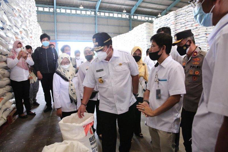 Gubernur Lampung pastikan stok pangan aman