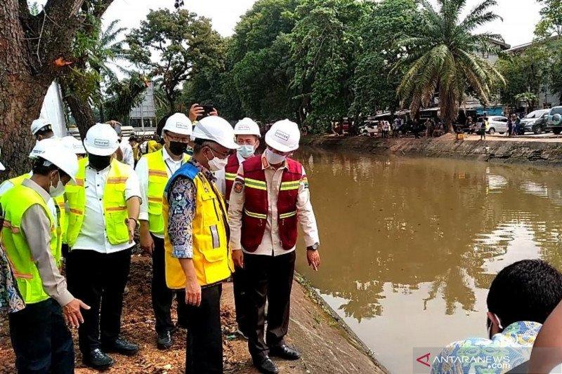 Kementerian PUPR restorasi Sungai Sekanak Lambidaro, selesai tahun ini
