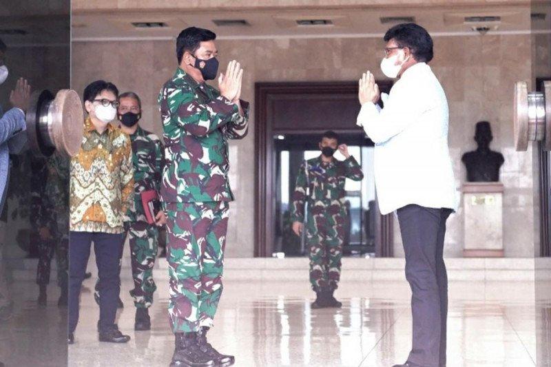 Kominfo-TNI perkuat kolaborasi digital