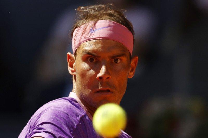 Nadal menuju perempat final Madrid Open untuk ke-15 kalinya