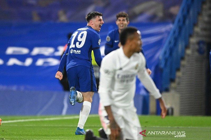 Sisihkan Real, Chelsea ciptakan All-English Final ketiga Champions