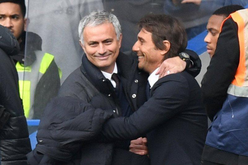 Antonio Conte bahagia bisa kembali hadapi Jose Mourinho di Serie A
