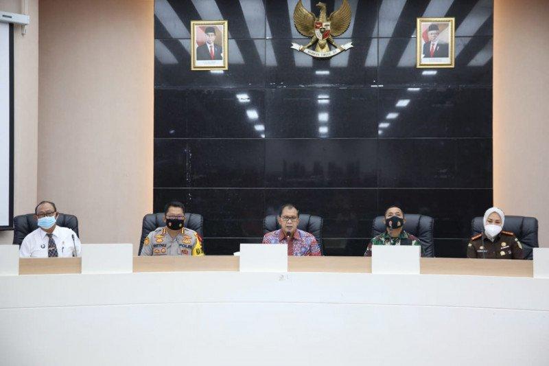Wali Kota Makassar-Forkopimda bahas persiapan Shalat Idul Fitri