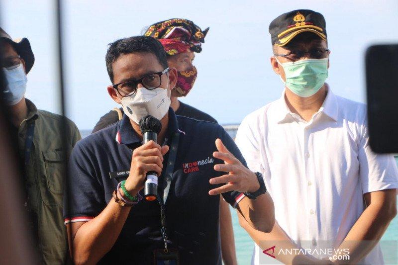 Menparekraf pastikan eksistensi pariwisata tiga gili di masa pandemi